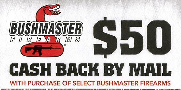 Bushmaster Rebate